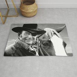 John Wayne @ True Grit #1 Rug