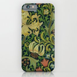 "John Henry Dearle ""Golden Lily"" 1. iPhone Case"