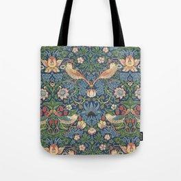 Strawberry Thief - Vintage William Morris Bird Pattern Tote Bag