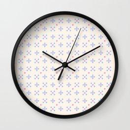new polka dot 18 Wall Clock