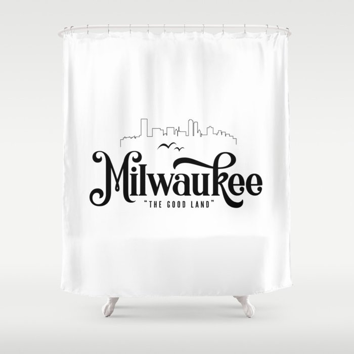 Milwaukee Shower Curtain