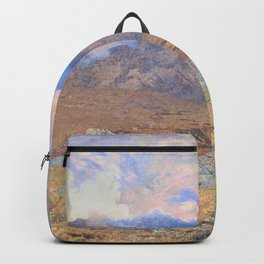 Alfred William Hunt - Snowdon, after an April Hailstorm - Digital Remastered Edition Backpack