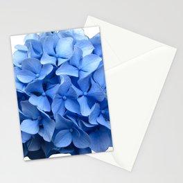 Nantucket Blue Hydrangea Flower Stationery Cards