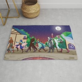 The Mighty Nein Rug