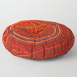 Kuna Indian Mola Stingray Floor Pillow
