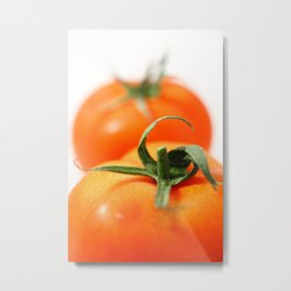Two tomatoes Metal Print