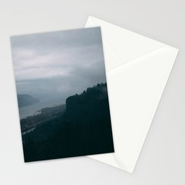 Crown Point Blue Stationery Cards