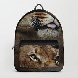 Hercules the liger half lion half tiger Backpack