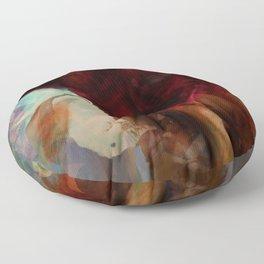 Misted Rose Floor Pillow