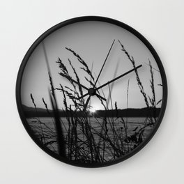Seagrass Sway Wall Clock