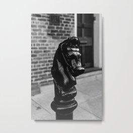New Orleans Horse Metal Print