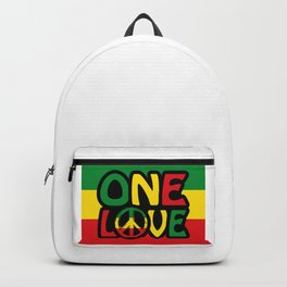 One Love, Reggae Design Backpack
