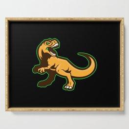 Dinosaur Motif Lovers Gift Idea Design Serving Tray