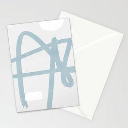 Soft line art Stationery Cards