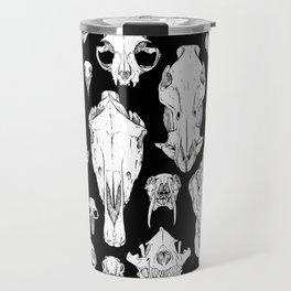 Skull Grid Travel Mug