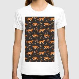 Jaguars on Black Patttern T-shirt