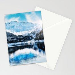 Lai da Marmorera Mountains Stationery Cards