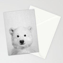Polar Bear - Black & White Stationery Cards