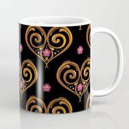 Argentine Tango Lover Golden Flower Heart Filete Tote Bag Coffee Mug