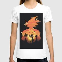 Goku Sunset T-shirt