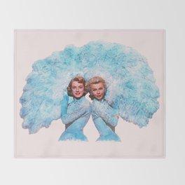 Sisters - White Christmas - Watercolor Decke