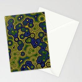 Algae Concentric Circles by Shiri Mor Stationery Cards