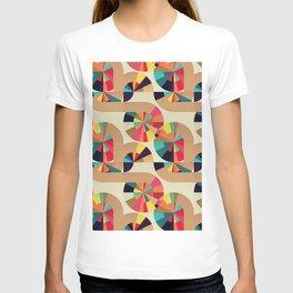 Kaleidoscope Pattern T-shirt