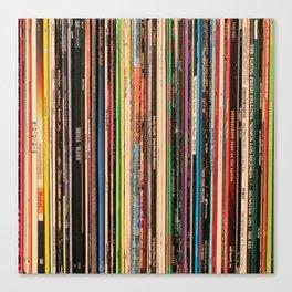 Alternative Rock Vinyl Records Leinwanddruck