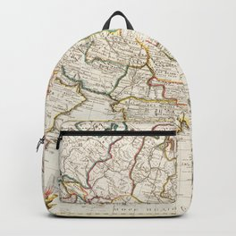 Map of Asia Identical to the maps of Guillaume DIsle (ca1723) Backpack