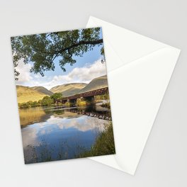 Railway Viaduct Over River Orchy Stationery Cards