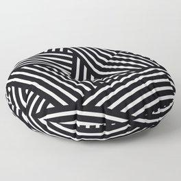 Braided liens Floor Pillow