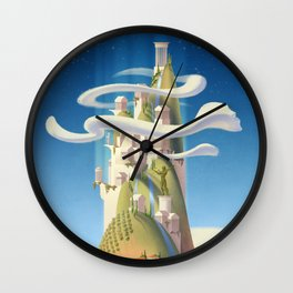 Mythical Places - Mount Olympus Wall Clock