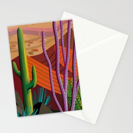 Cactus on Mountaintop Stationery Cards