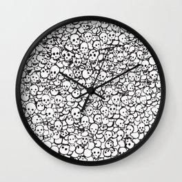 Skulls by CJ Wall Clock