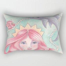 Siren of the Sea Rectangular Pillow