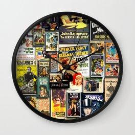 JEKYLL and HYDE Wall Clock
