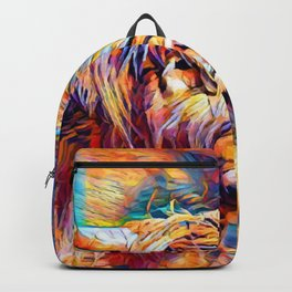 Highland Cow 6 Backpack