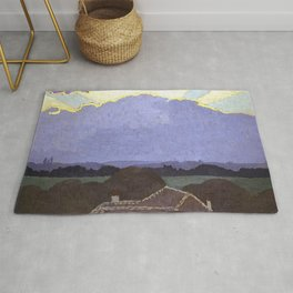 Felix Vallotton - Cloud in Romanel Rug