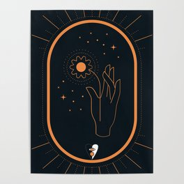 Tarrot Fool Art Card Poster