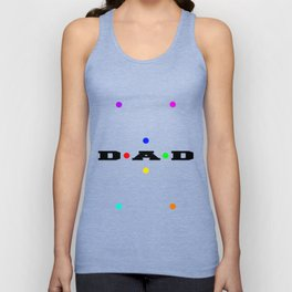 Dad Dots Unisex Tank Top