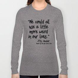 Fan-favorite Fitz Quote Langarmshirt