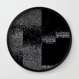 barelystanding Wall Clock