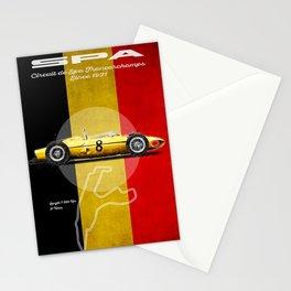 Spa Racetrack Vintage Stationery Cards