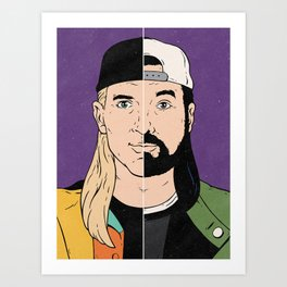 Jay & Silent Bob Art Print