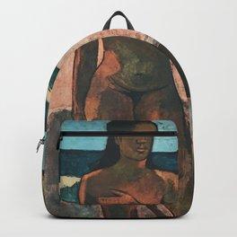 Gauguin Exhibition poster Paris 1960 Backpack