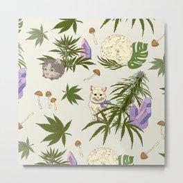 Catnabis  Metal Print