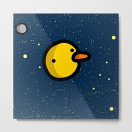 Planet of the Ducks   Veronica Nagorny  Metal Print
