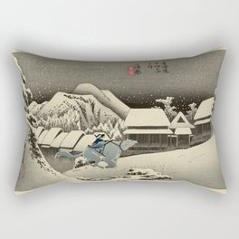 Kanbara Yoru No Yuki Korra and Naga Rectangular Pillow
