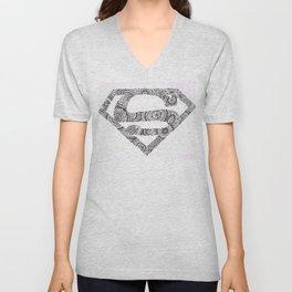 Super Symbol Doodle Unisex V-Neck