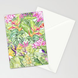 Tropical Garden 1A #society6 Stationery Cards